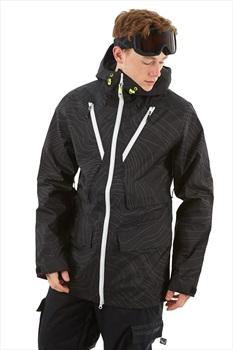 Wearcolour Raven Ski & Snowboard Jacket, S Black Elevation