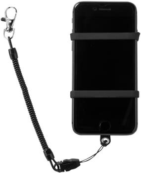 Manbi Phone Ninja Phone Case/Leash, One Size Black