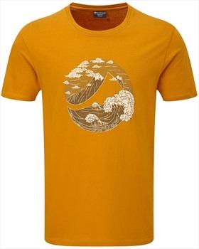 Montane Great Mountain Cotton Rock Climbing T-shirt, XL Inca Gold