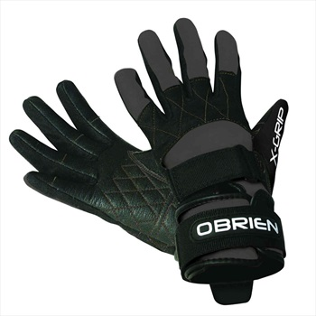 O'Brien Competitor X Grip Waterski Wakeboard Gloves, 2XL Blck 2021