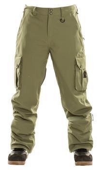 Sessions Adult Unisex Squadron Ski/Snowboard Pants, M Fatigue
