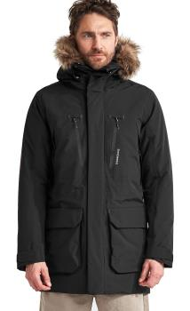 Didriksons Marco Waterproof Padded Parka Coat, S Black