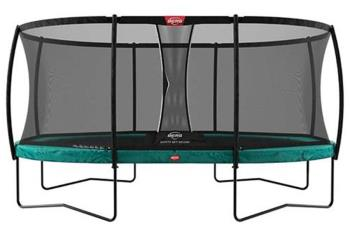 Berg Grand Champion Regular + Safety Net Deluxe Trampoline, 520