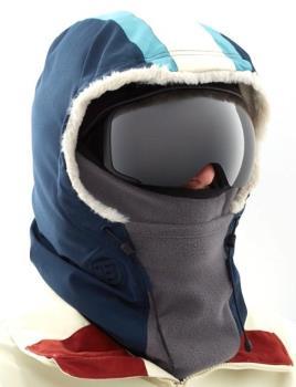 Burton Retro Outerwear Ski/Snowboard Hood, One Size Dress Blue