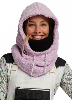 Burton Larosa Sherpa Women's Ski/Snowboard Hood, One Size Orchid