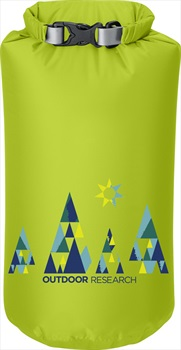 Outdoor Research Graphic Dry Sack Equipment Dry Bag, 10L Woodsy