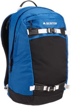 Burton Day Hiker Snowboard Backpack, 28L Classic Blue Ripstop