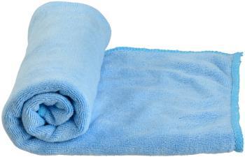 Care Plus Microfibre Towel Compact Travel Towel, Small Blue