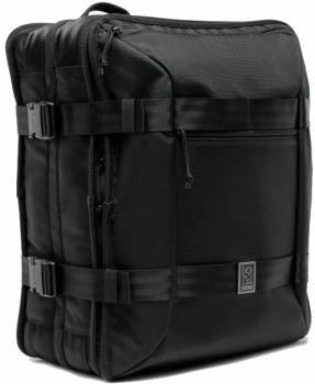 Chrome Adult Unisex Macheto Travel Pack/Backpack, 52l All Black