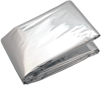 Coghlans Emergency Foil Blanket Compact Thermal Survive Single Silver