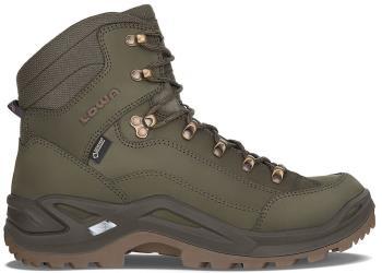 Lowa Adult Unisex Renegade Gtx Mid Men's Leather Hiking Boots, Uk 11 Basil