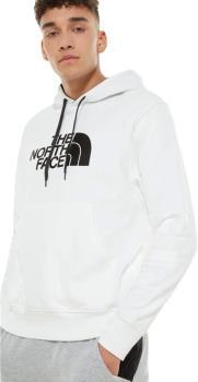 The North Face Adult Unisex Drew Peak Men's Pullover Hoodie, M White/Black