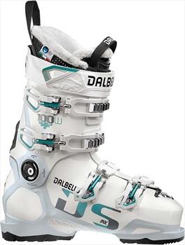 Dalbello DS AX 100 W Women's Ski Boots, 24.5 White/Polar White 2020