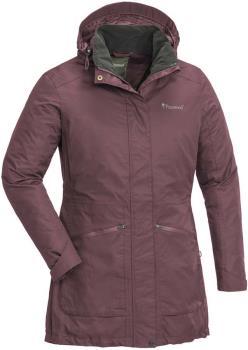 Pinewood Wilda Women's Waterproof Parka Jacket, S Plum