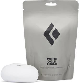 Black Diamond White Gold Rock Climbing Chalk 50g Non-Refillable Shot