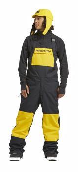Airblaster Freedom Bib Ski/Snowboard Pants, M Black YOLO