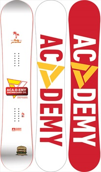 Academy Propaganda Zero Camber Snowboard, 154cm Wide 2020