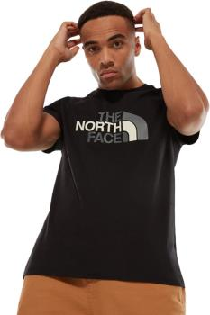 The North Face Short Sleeve Easy Tee Crew Neck T-shirt, S TNF Black
