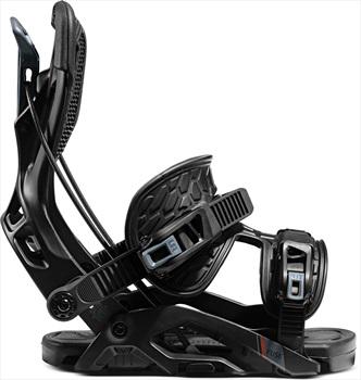 Flow Fuse Fusion Step In Snowboard Bindings, M Black 2021