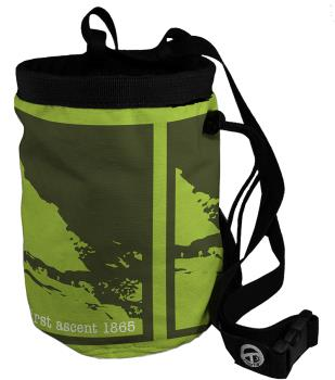Charko Tube Rock Climbing Chalk Bag, Regular Cervino