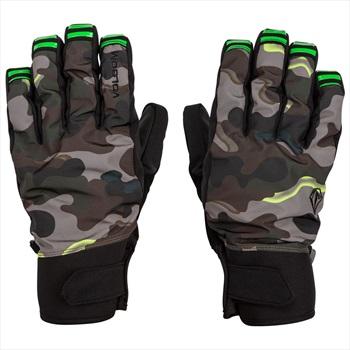 Volcom VCO Nyle Ski/Snowboard Gloves, M Army Camo