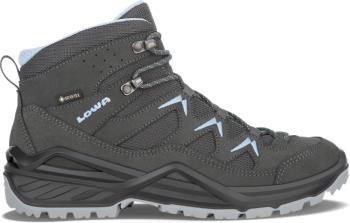 Lowa Sirkos Evo GTX Mid Women's Hiking Boots UK 6 Anthracite/Blue