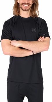 Burton Adult Unisex [ak] Power Grid Short Sleeve Base Layer T-Shirt, M True Black