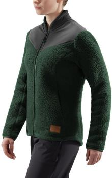 Haglofs Pile Fleece Women's Full-Zip Jacket XL Mineral/Magnetite