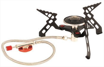 Robens Fire Beetle Stove Camping & Backpacking Stove, Black/Red