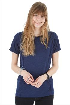 Montane Dart Women's Technical Crew T-shirt, UK 16 Antarctic Blue