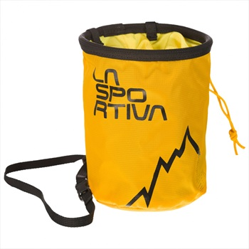 La Sportiva LSP Rock Climbing Chalk Bag, One Size Yellow