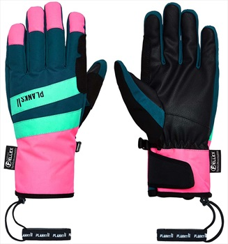 Planks Peacemaker Insulated Ski/Snowboard Gloves, L Peacock