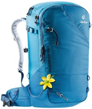 Deuter Freerider Pro 32+ SL Ski/Snowboard Backpack, 32L Bay-Azure