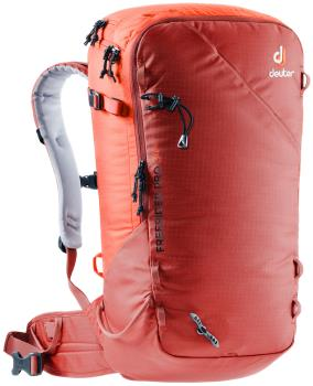 Deuter Freerider Pro 34+ Ski/Snowboard Backpack, 34L Lava-Papaya