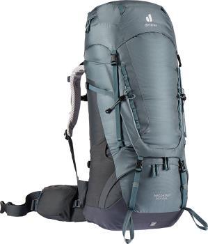 Deuter Aircontact 50 + 10 SL Women's Backpack, 50L Shale/Graphite