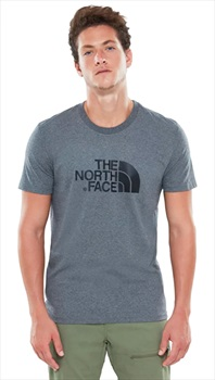 The North Face Short Sleeve Easy Men's Climbing T-shirt L Grey Heather