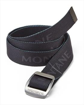 Montane Lasso Adjustable Webbing Belt, One Size Charcoal
