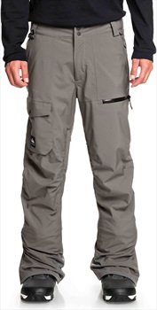 Quiksilver Utility Ski/Snowboard Pants, M Castlerock