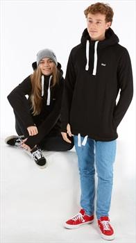 bro! Chill N'shred Unisex Ski/Snowboard Hoodie, XS Black