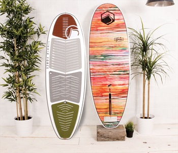 "Liquid Force Guapo Wakesurfer, 5'2"" Grey Green Multi"