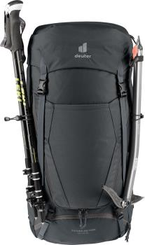 deuter Futura Air Trek 45+10 SL Women's Hiking Backpack, 45L Black