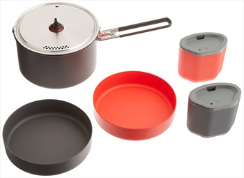 MSR Alpinist 2 System Cooking Set Camping Cookware, 2.4L