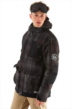 Westbeach Domineer Ski/Snowboard Jacket, S Steel Check