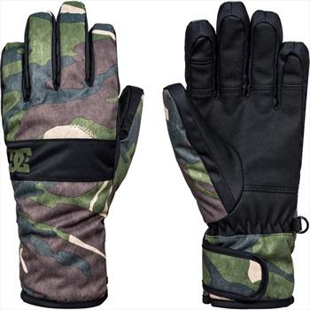 DC Franchise Kids' Ski/Snowboard Gloves, S Woodland Camo