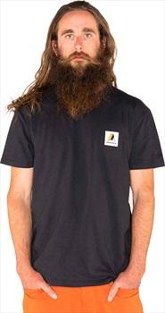 Armada Adult Unisex Patch Short Sleeve T-shirt, S Black