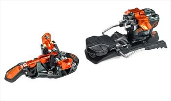 G3 ION 12 Ski Bindings, 100mm Orange
