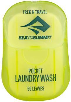 Sea to Summit Pocket Laundry Wash Biodegradable Leaf Soap, 50 Leaves