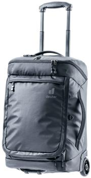 Deuter AViANT Duffel Pro Movo 36 Wheeled Travel Bag, 36L Black