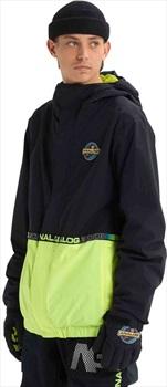 Analog Blast Cap Ski/Snowboard Jacket, XXS True Black/High Viz