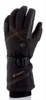 Therm-ic Women's Ultra Heat Heated Ski/Snowboard Glove, S Black
